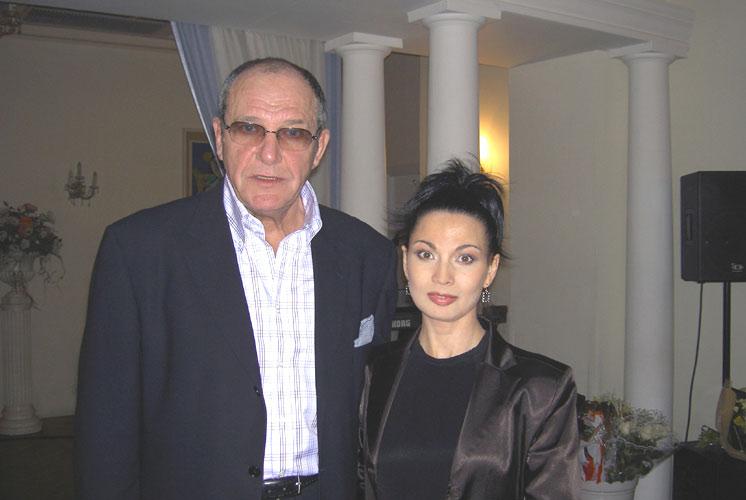 Эммануил Виторган и Ольга Ларина.