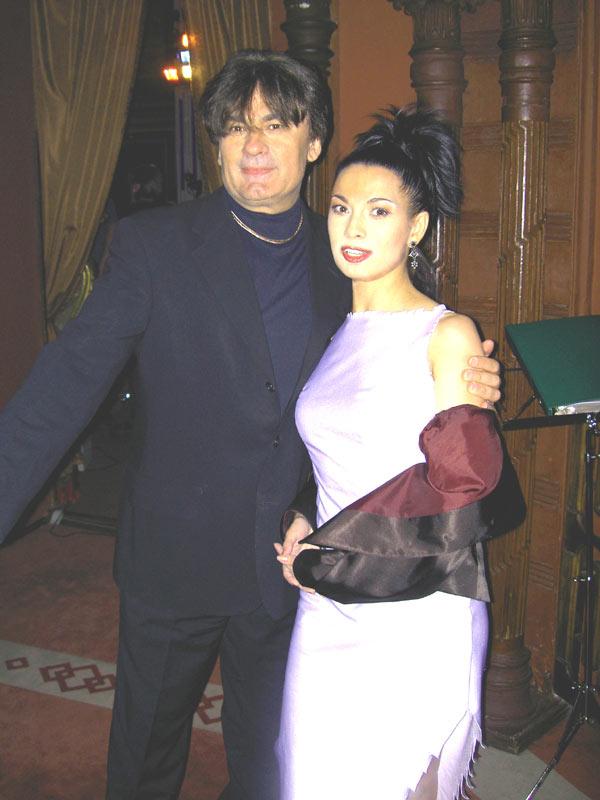 Александр Серов и Ольга Ларина.